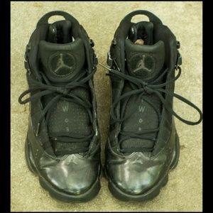 NIKE Michael Jordan 6 Rings~Charcoal Black~ 10.5